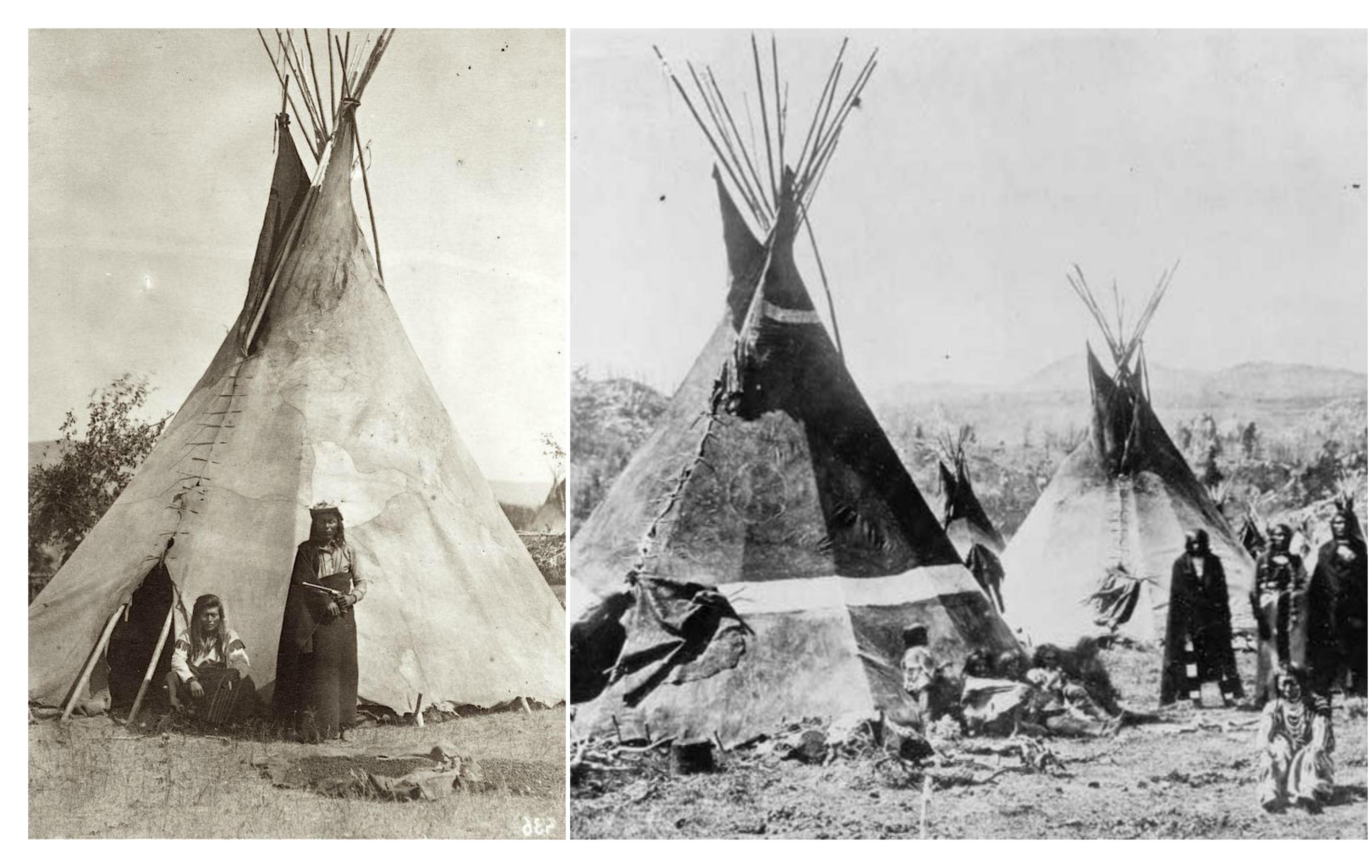 indios-nativos-americanos-viviendo-en-tipis