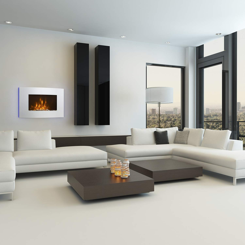 una-de-las-mejores-chimeneas-electricas-modelo-klarstein-lausanne-colgada-en-la-pared-de-un-salon-estilo-minimalista