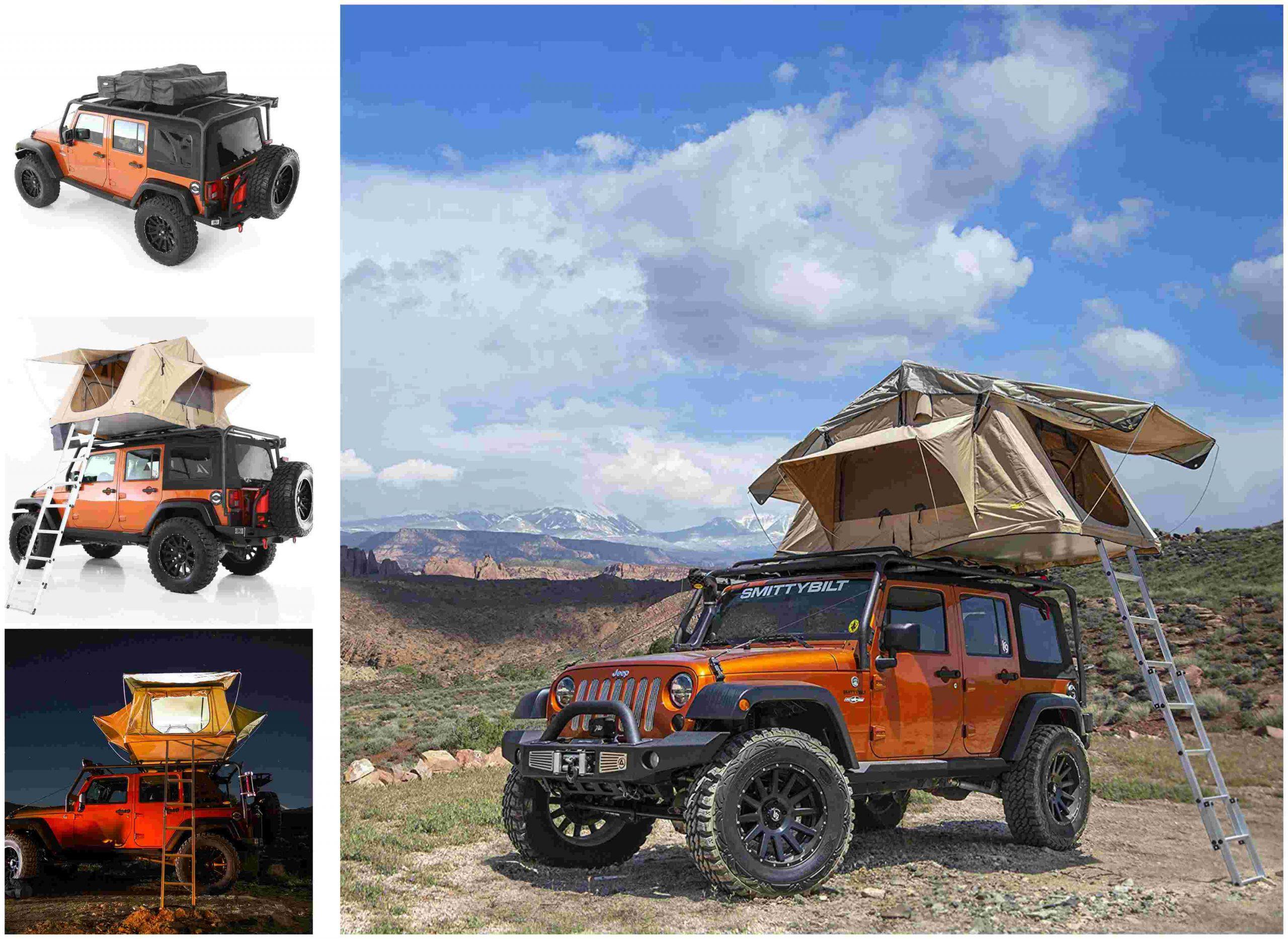 las-mejores-tiendas-de-campaña-de-techo-de-coche-para-glamping-Overlander-Smittybilt