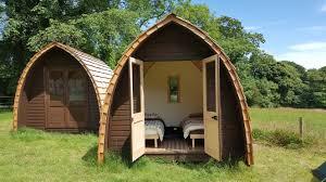 cabaña-de-madera-pod-tipo-de-glamping
